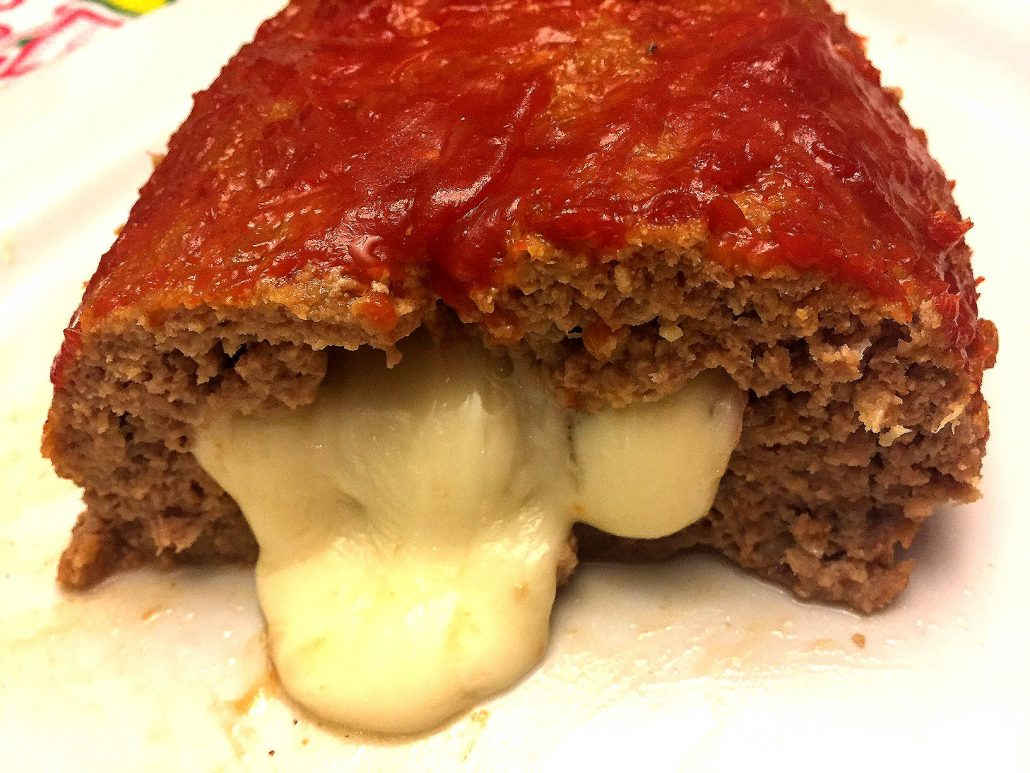 Meatloaf Stuffed With Cheese