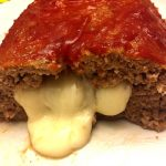 Easy Cheese Stuffed Meatloaf Recipe With Gooey Melted Cheese Inside