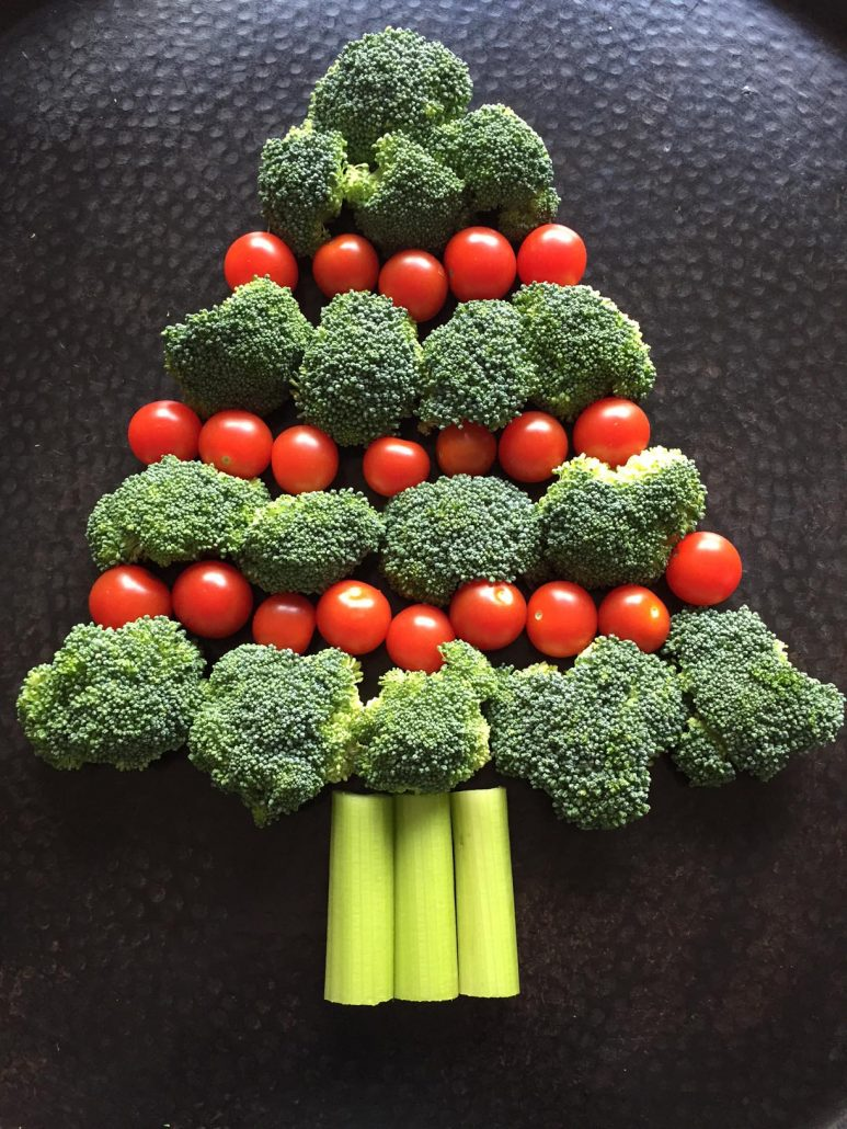 How To Make Broccoli Christmas Tree