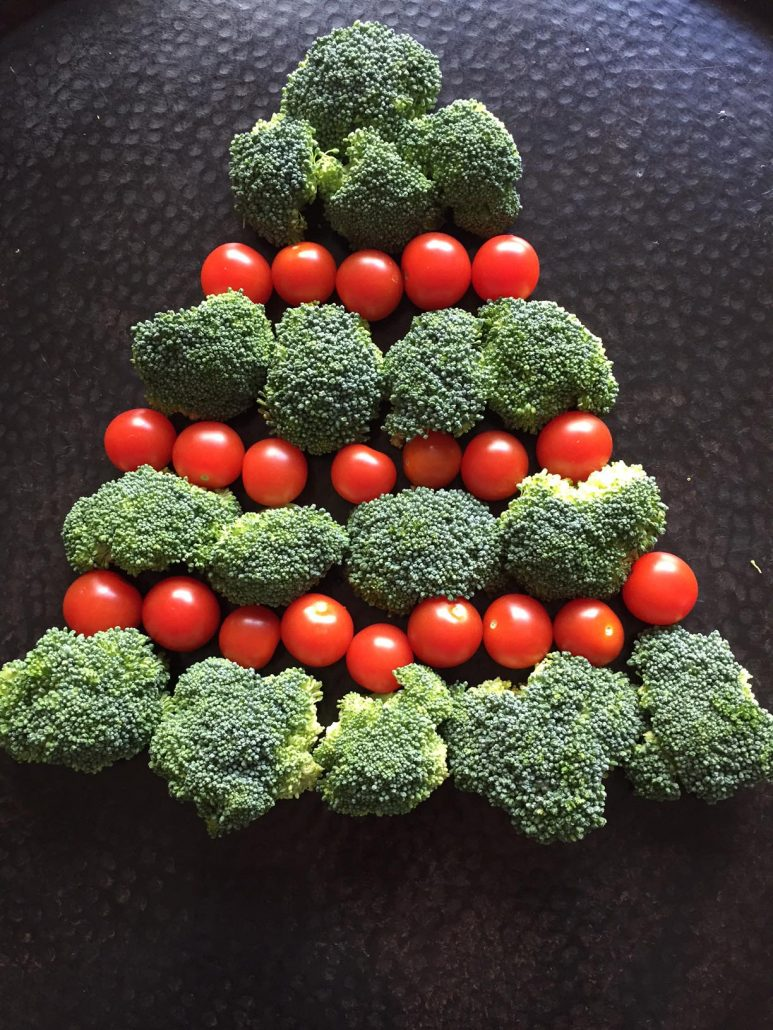 How To Make Vegetable Christmas Tree