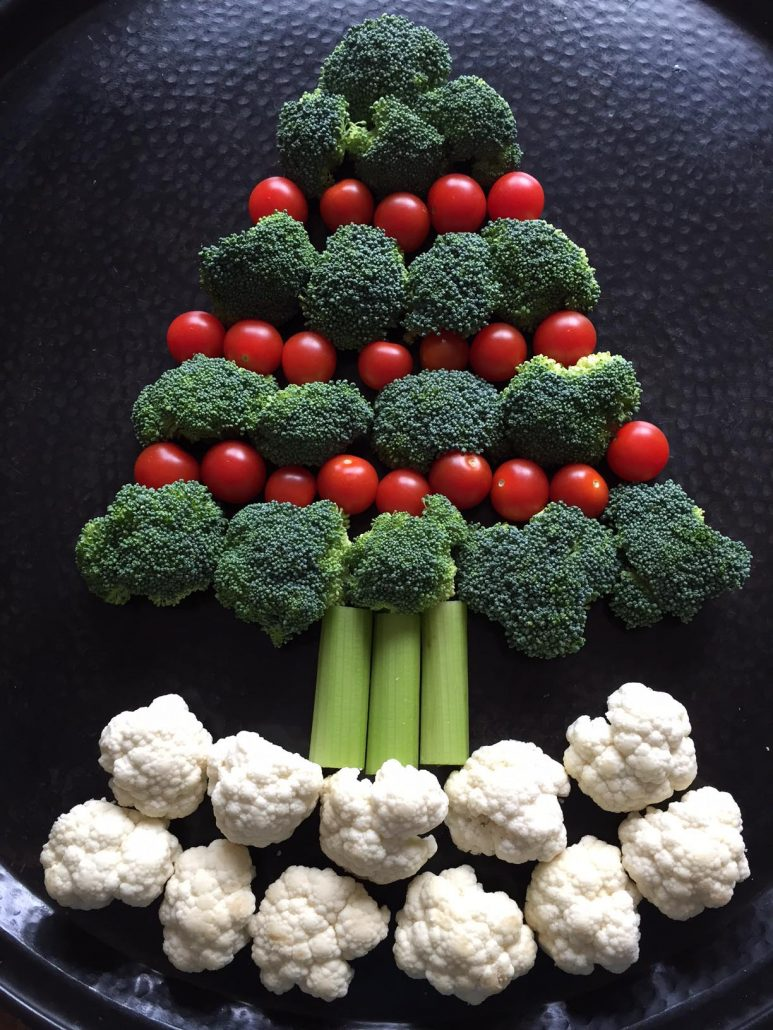 How To Make Broccoli Veggie Christmas Tree