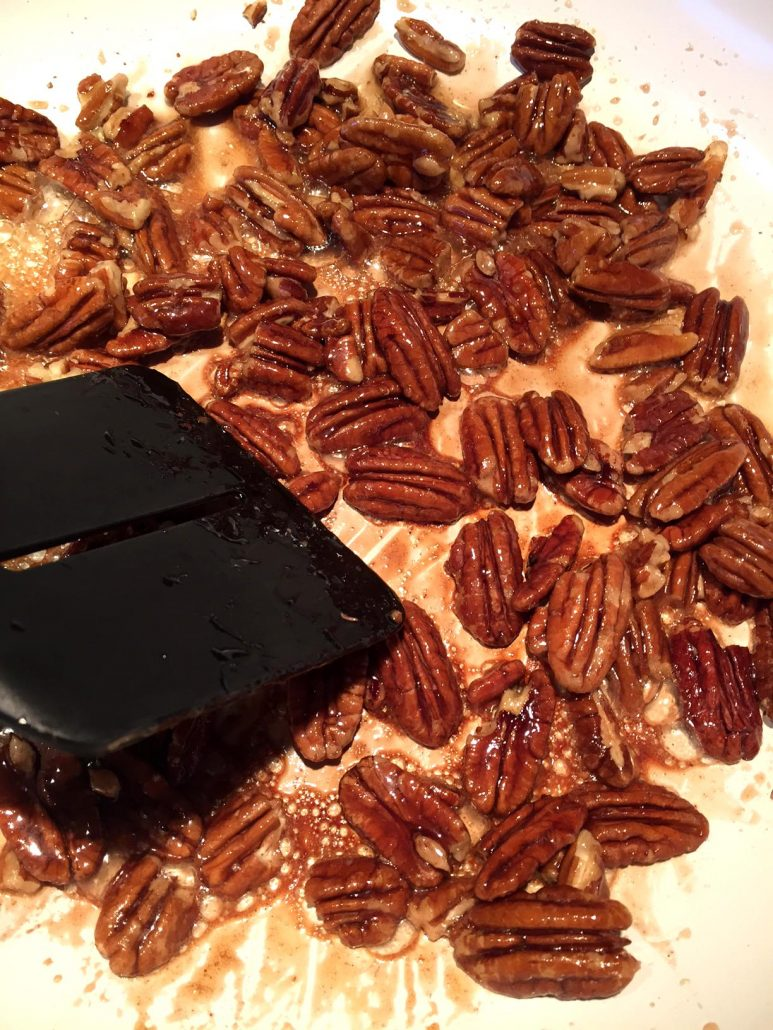 How To Make Honey Candied Pecans Without Sugar