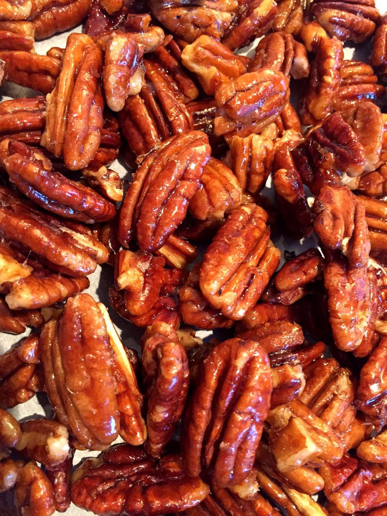 Clean Eating Honey Candied Pecans Recipe