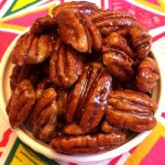 Honey Candied Pecans - Healthy Clean Eating Recipe With No Added Sugar!