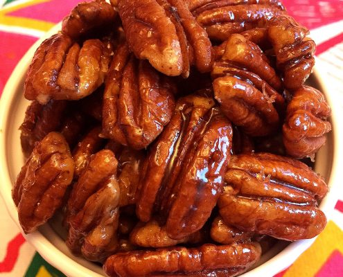 Honey Candied Pecans
