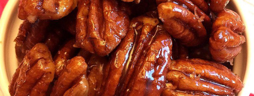 Honey Candied Pecans Recipe