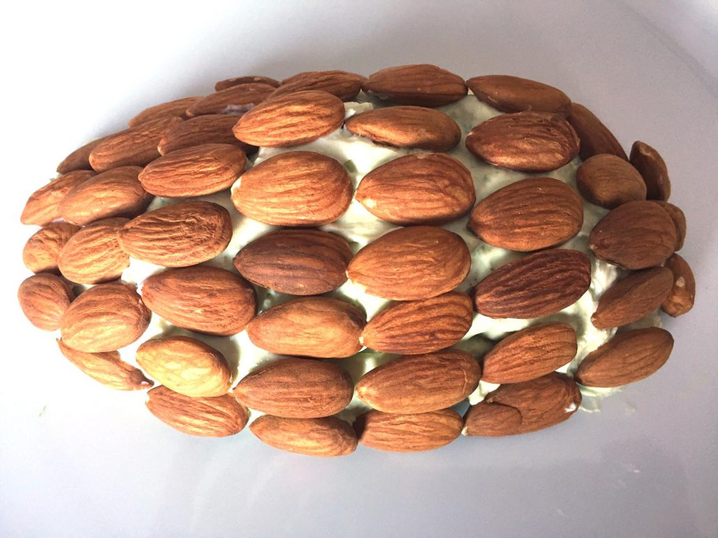 Pinecone Cheese Ball Recipe