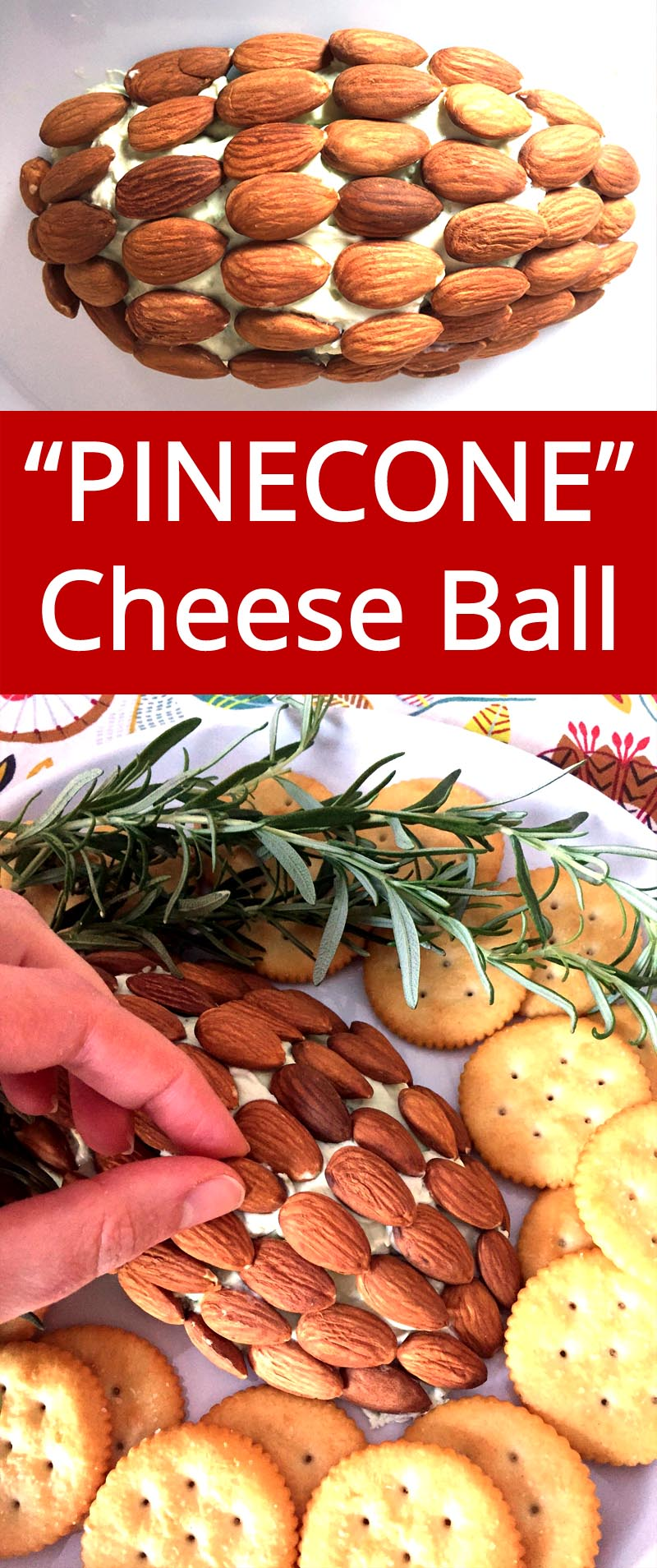 What a great idea! I'm making this pinecone cheese ball for Holiday party! | MelanieCooks.com