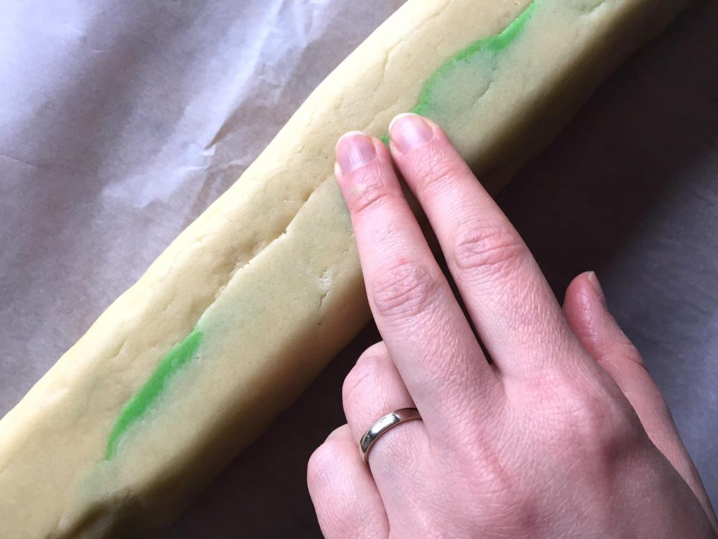 Pinwheel Cookies Dough Log