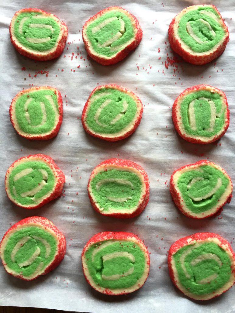 Easy No Chill Pinwheel Swirl Sugar Cookies