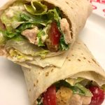 Easy Healthy Chicken Ceasar Salad Wraps Recipe