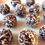 Healthy Coconut Date Truffles - Sugar-Free, Gluten-Free, Raw, Vegan Energy Balls!