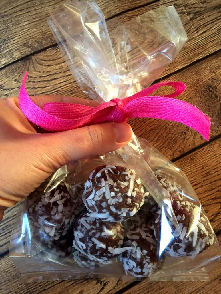 Healthy Coconut Date Truffles Homemade Gift