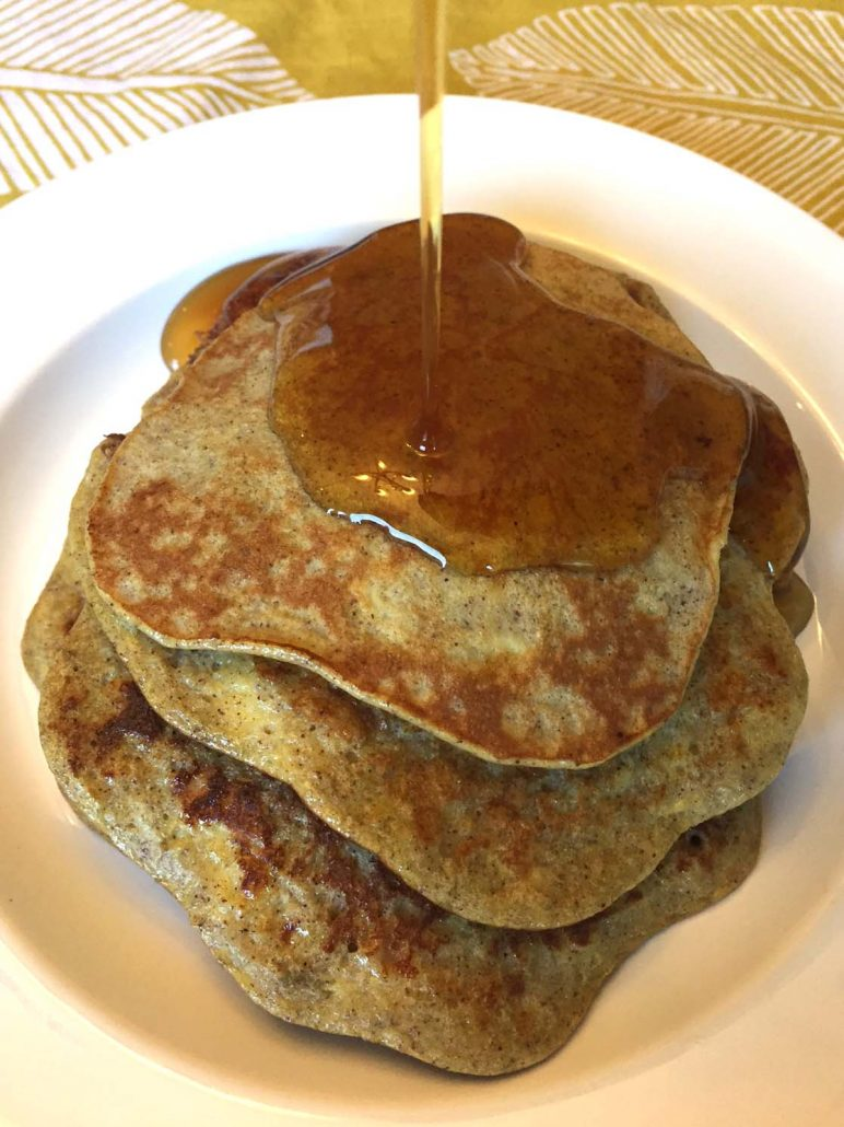 3 Ingredient Banana Pancakes - Healthy and Gluten-Free!