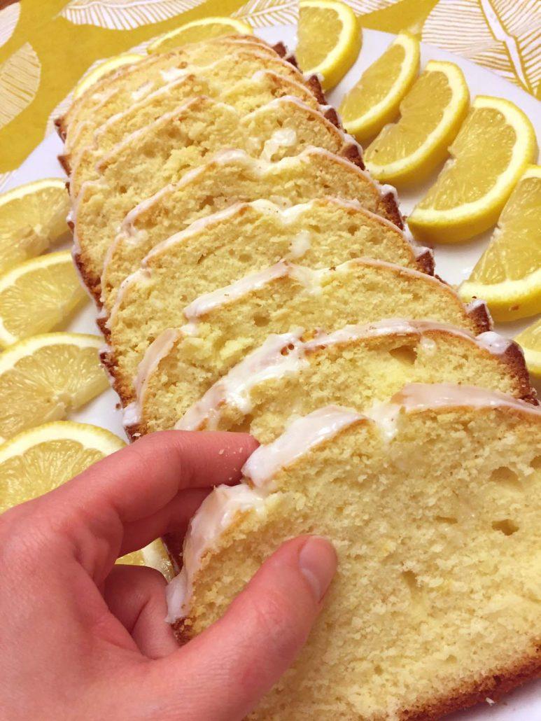 Starbucks Lemon Loaf Pound Cake Copycat Recipe