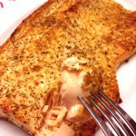 Parmesan Crusted Baked Lemon Garlic Salmon Recipe