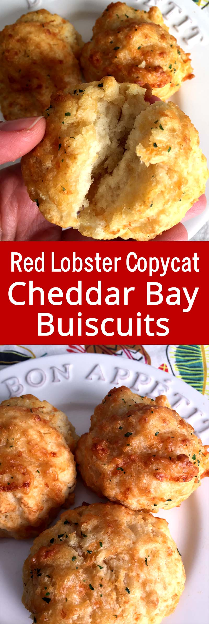 These taste just like Red Lobster biscuits! Super easy to make and so addictive!