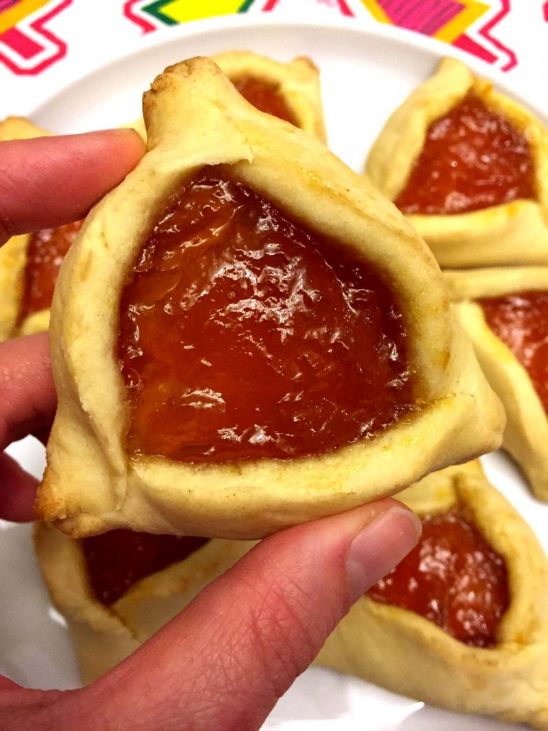Easy hamantaschen jewish purim cookies step by step recipe melanie easy hamantaschen jewish purim cookies recipe forumfinder Image collections
