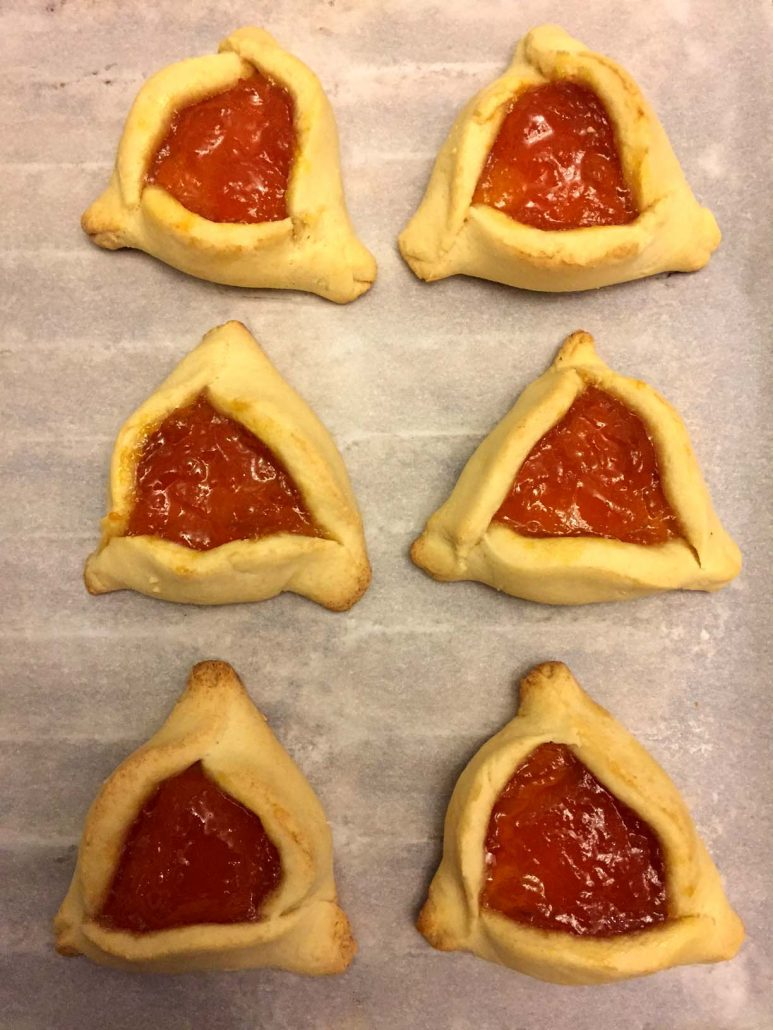 Easy Hamantaschen Jewish Purim Cookies Step-By-Step Recipe ...