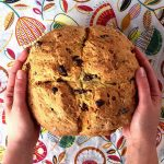 Easy Irish Soda Bread Recipe With Raisins - No Buttermilk Needed!