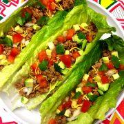 keto turkey lettuce wraps