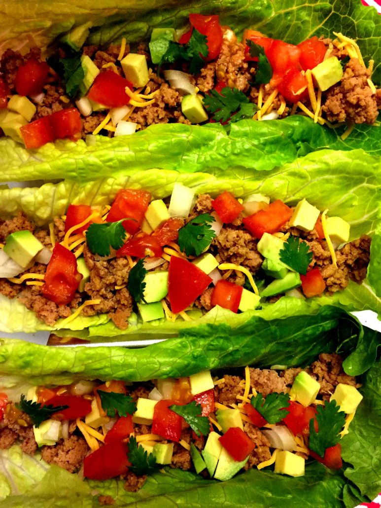 Turkey Lettuce Wraps Recipe