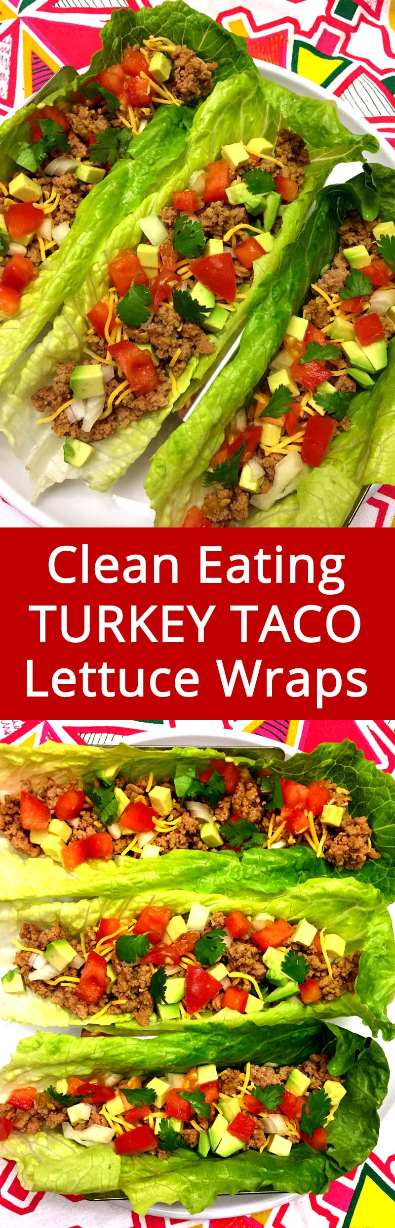 These turkey taco lettuce wraps is my favorite clean eating dinner! Low-carb, gluten-free, keto - truly healthy stuff! SO YUMMY TOO!!!