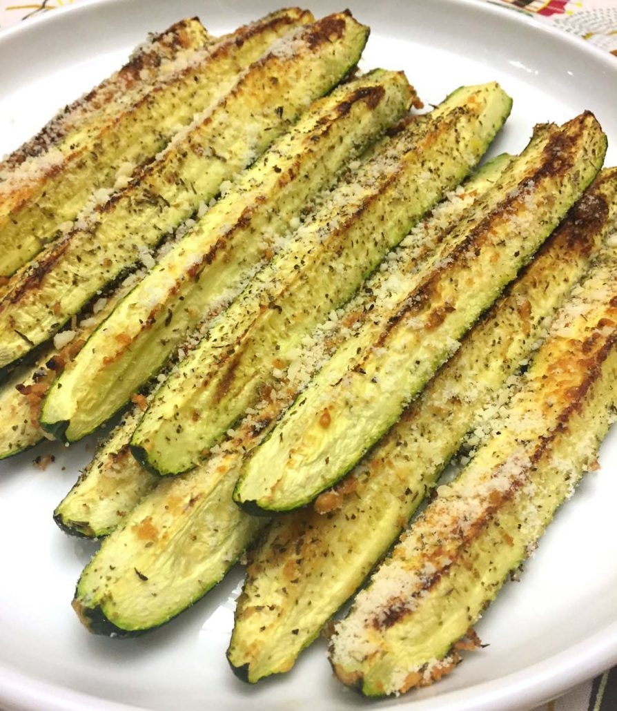 garlic parmesan zucchini recipe