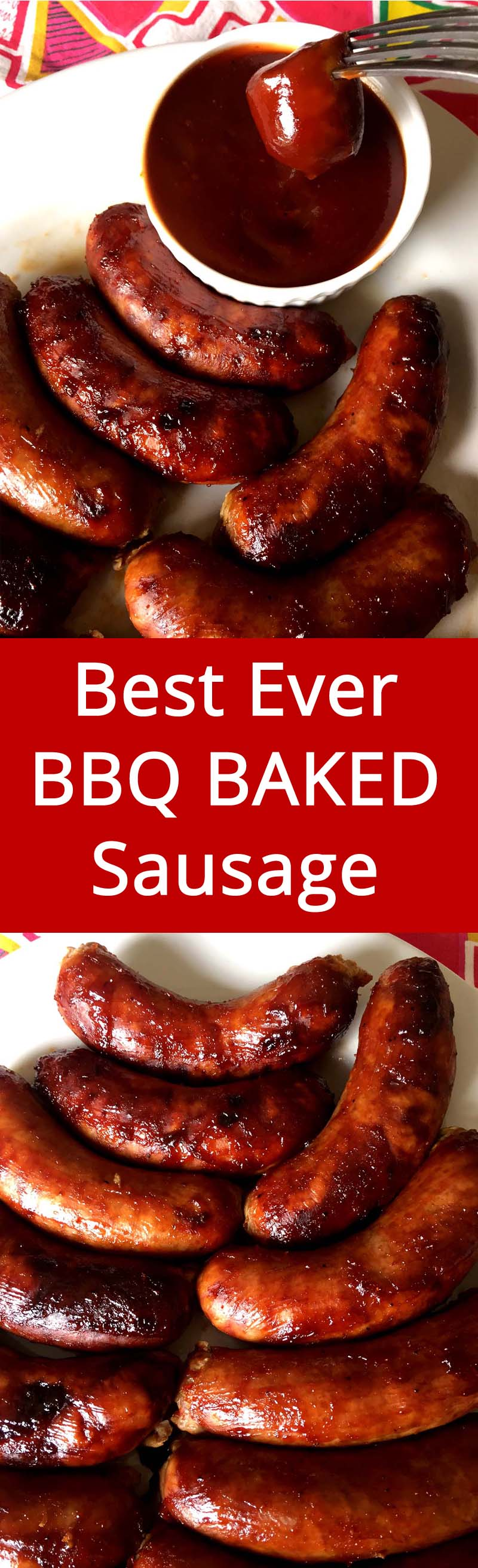 This Bbq Baked Sausage Is Always A Hit Super Easy To Make I Love