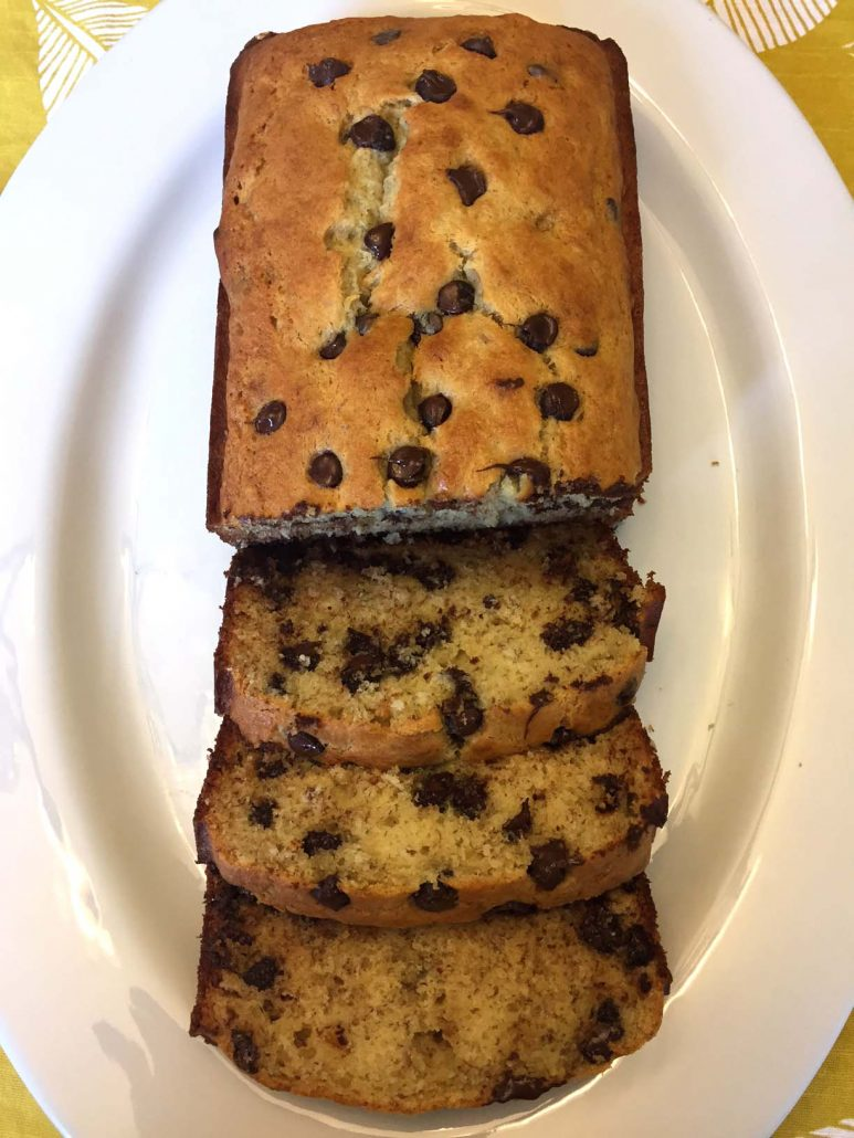 Easy Chocolate Chip Banana Bread Recipe Best Ever