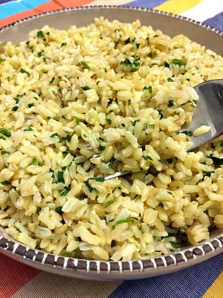 Chipotle Cilantro Lime Rice (White Or Brown) Copycat ...