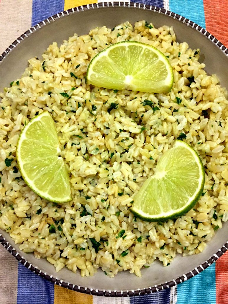 Cilantro Lime White Or Brown Rice Recipe