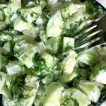 Creamy Cucumber Dill Salad Recipe With Lemon Yogurt Dressing