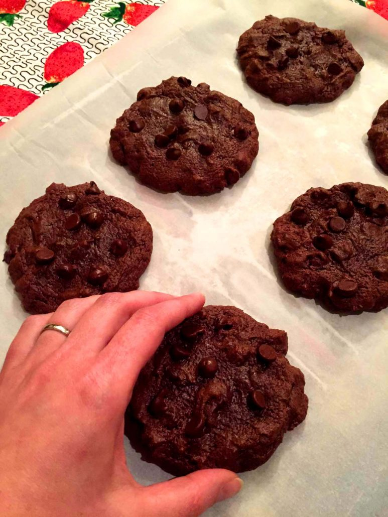 Soft Chewy Double Chocolate Chip Cookies Recipe – Melanie Cooks