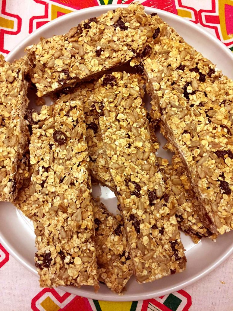 Nut-Free Granola Bars