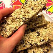 Easy Homemade Nut-Free Granola Bars Recipe