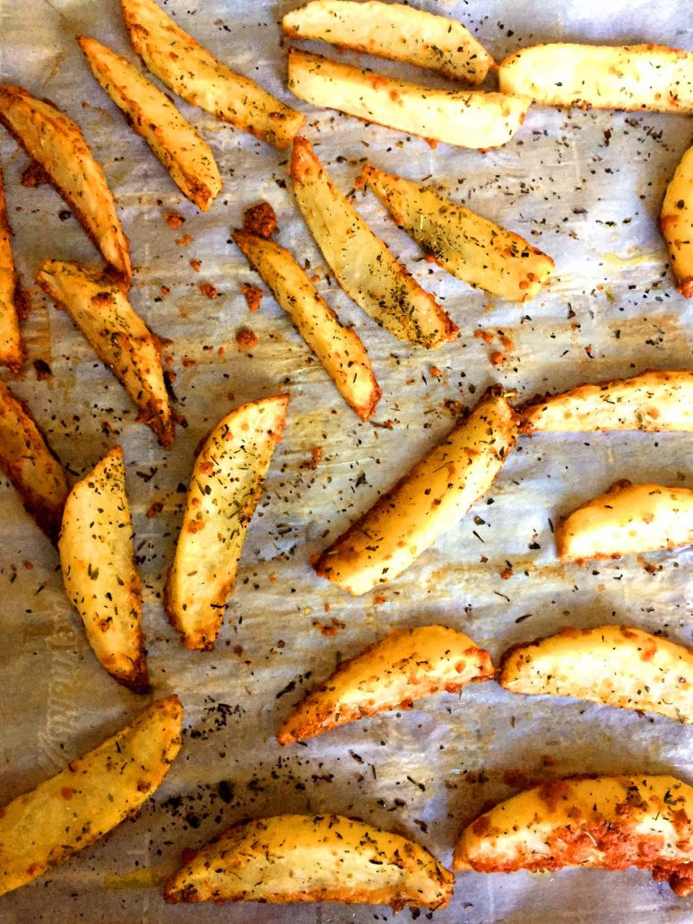 How To Make Oven Baked French Fries