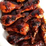 Amazing Honey Soy BBQ Baked Chicken Legs