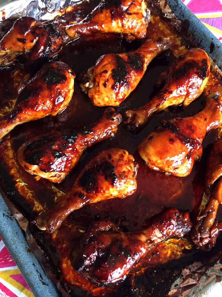 How To Make Honey Soy Baked Chicken Legs