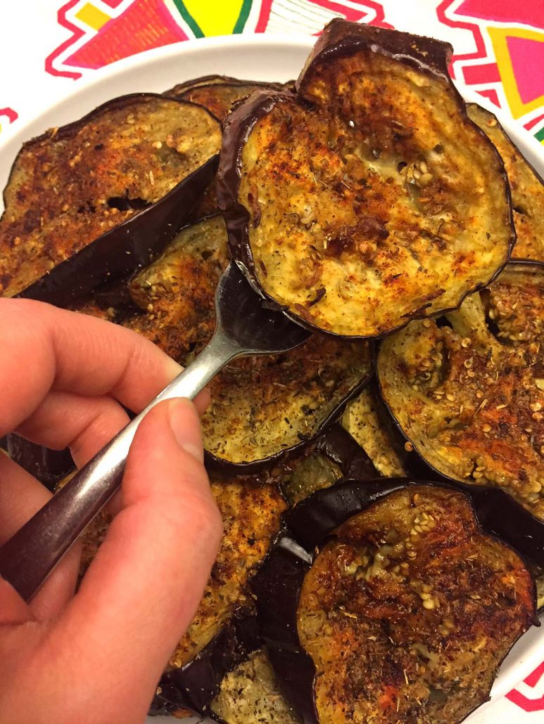 oven roasted eggplant recipe