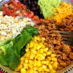 Mexican Taco Burrito Rice Bowls Chipotle Copycat Recipe