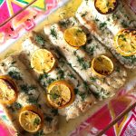 Baked Lemon Garlic Butter Tilapia/White Fish