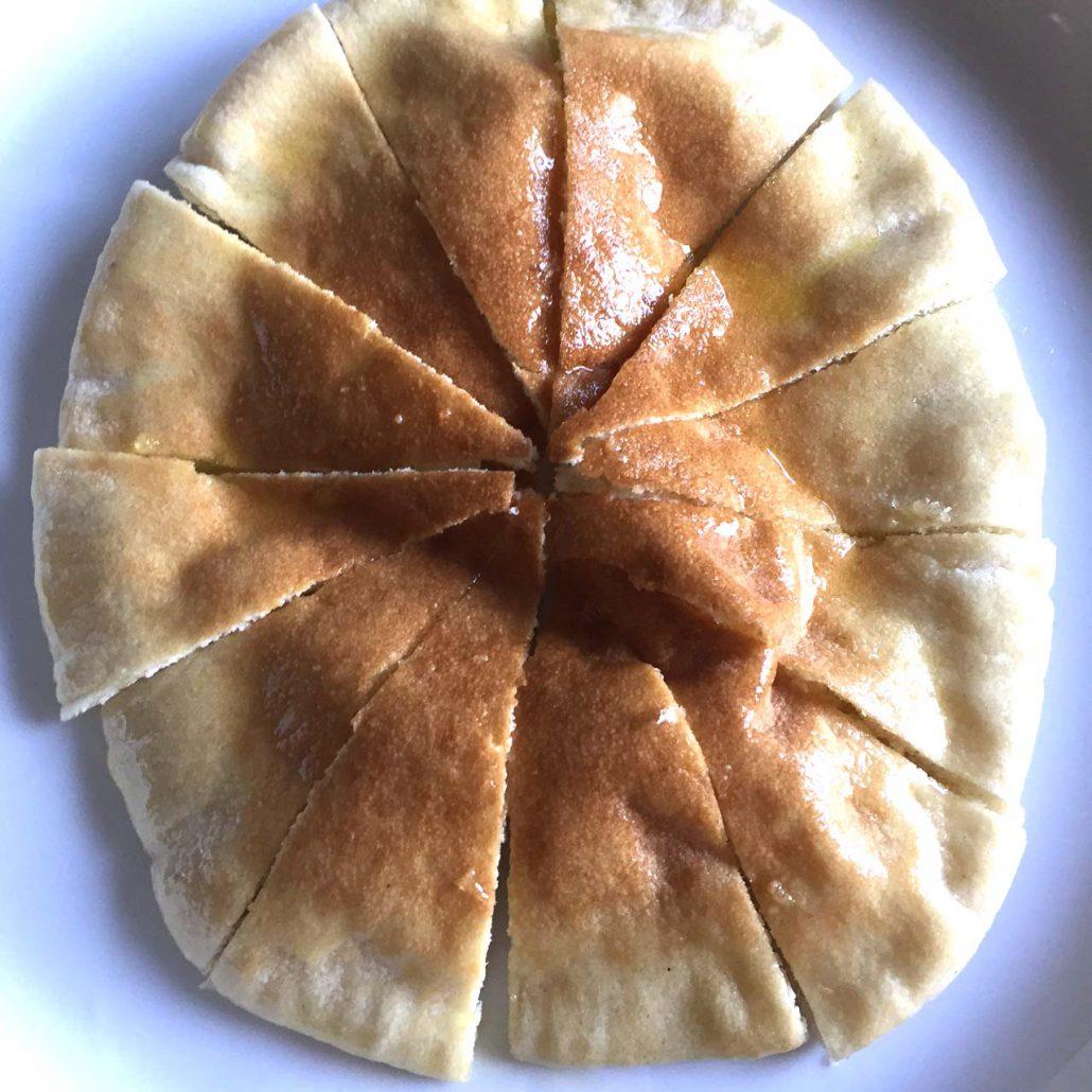Cut Pita Into Pita Chips