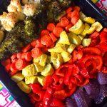 Rainbow Roasted Vegetables