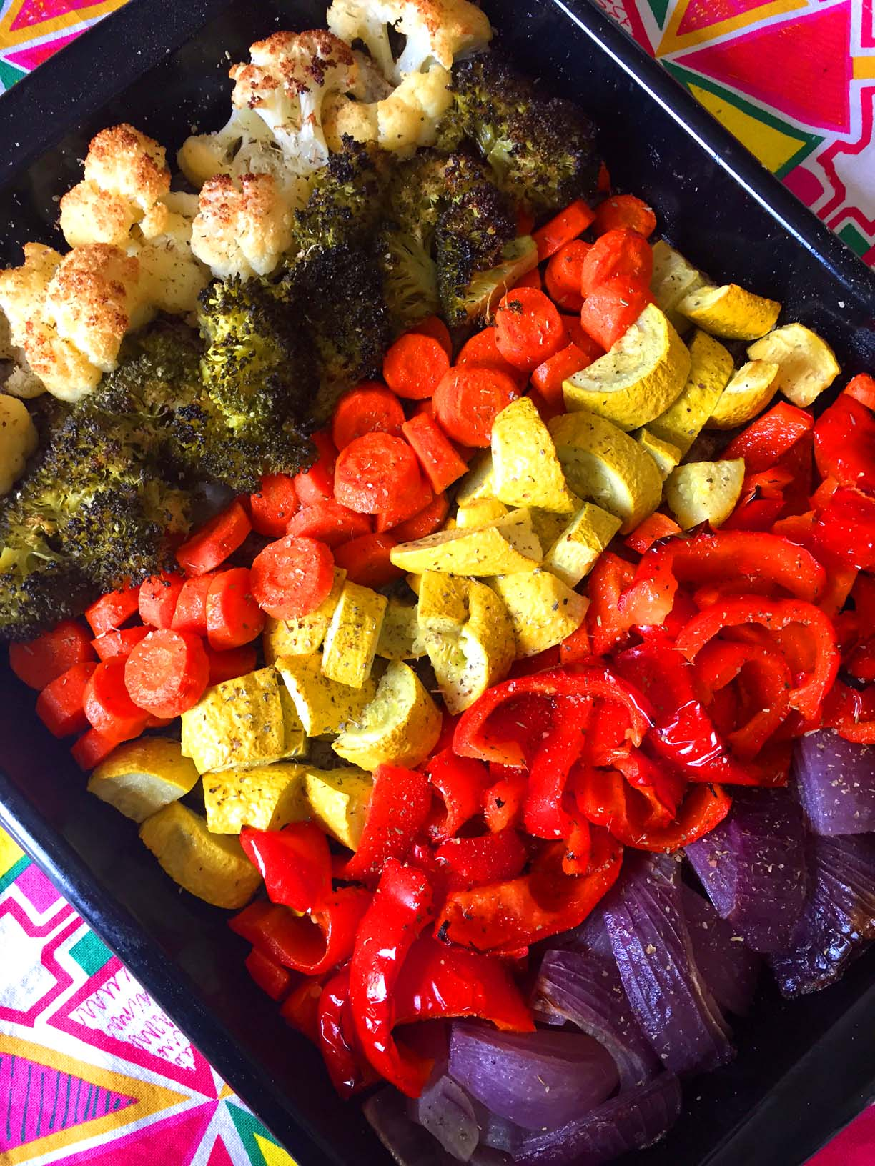 Easy Healthy Oven Roasted