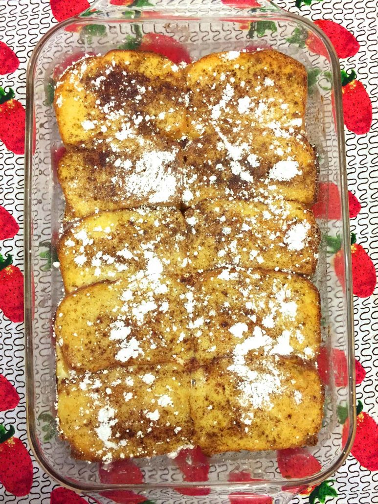 Baked French Toast Casserole Breakfast