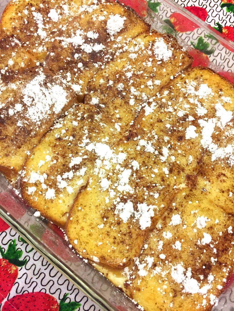 Baked French Toast Breakfast Casserole Recipe