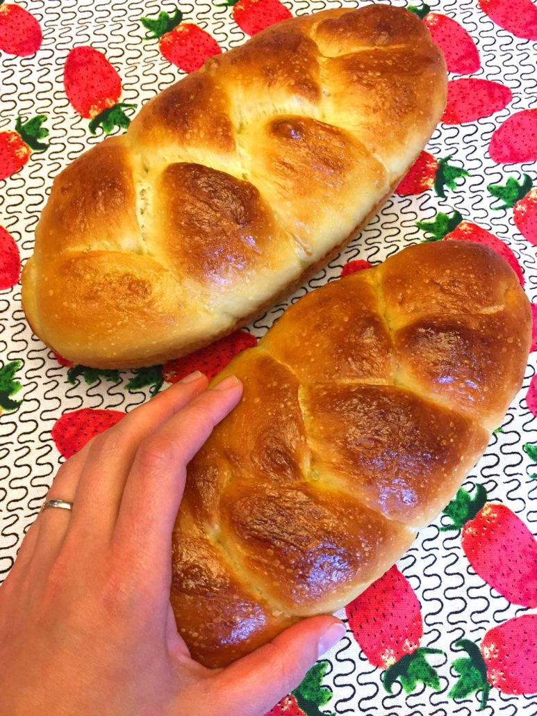 Soft Homemade Challah Bread Recipe
