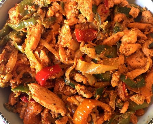 Easy Mexican Chicken Fajitas Recipe