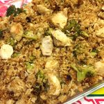 Baked Chicken Broccoli Fried Rice Casserole